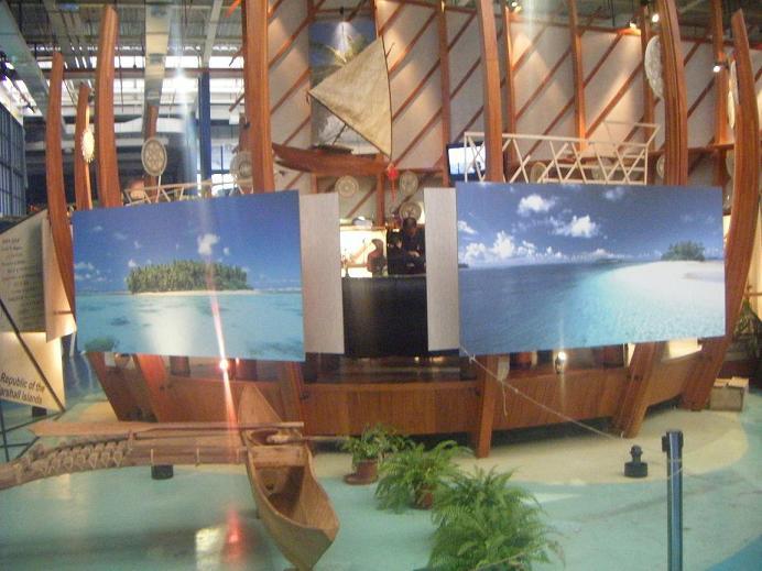 Niue a l'expo unvierselle de Shanghaï Expo1