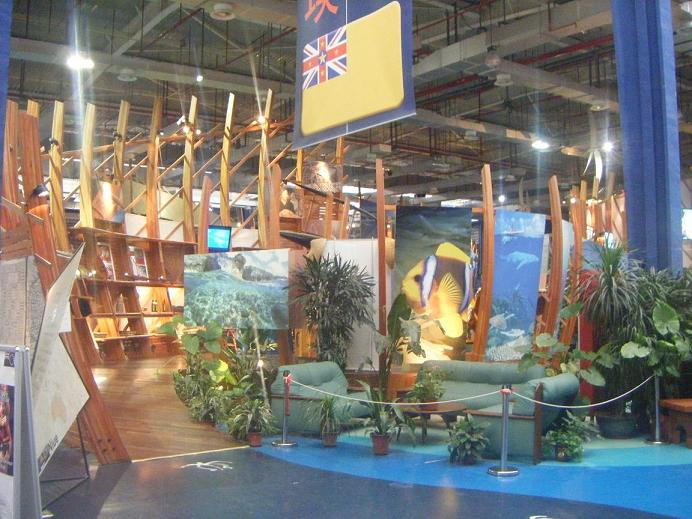 Niue a l'expo unvierselle de Shanghaï Expo2